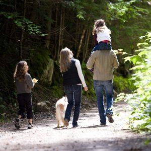 Family holidays with family caravan